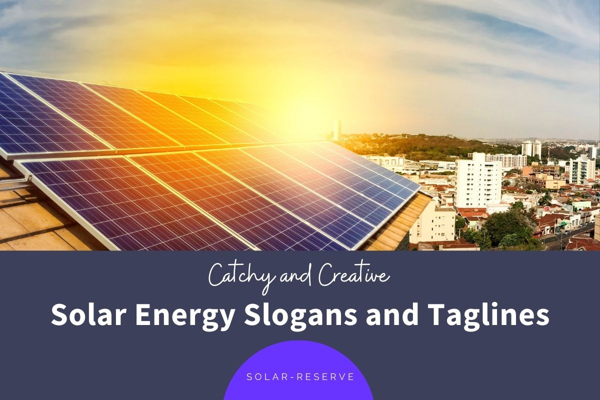 Solar Energy Slogans and Taglines